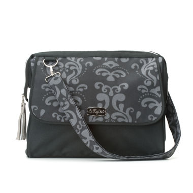 jcpenney.com | LillyBit Gray Damask Diaper Bag