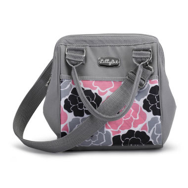 jcpenney.com | LillyBit Pink Floral Day-Pack Diaper Bag