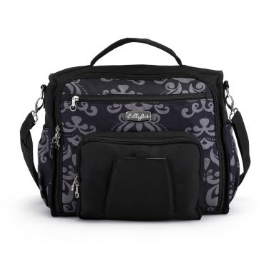 jcpenney.com | LillyBit Gray Damask Messenger Bag Diaper Bag