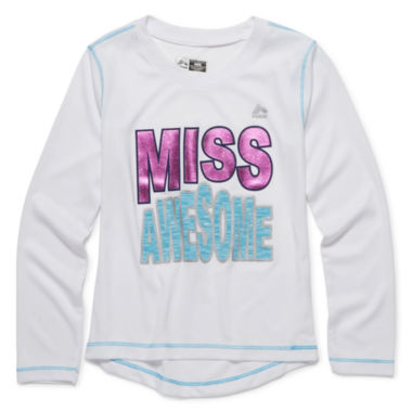 jcpenney.com | RBX Long-Sleeve Slogan Tee - Preschool Girls 4-6x