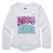RBX Long-Sleeve Slogan Tee - Preschool Girls 4-6x