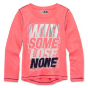 RBX Long-Sleeve Slogan Tee - Preschool Girls 4-6x and Plus