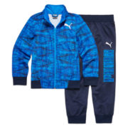 Puma® 2-pc. Kaleidoscope Printed Track Suit - Preschool Boys 4-7
