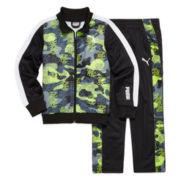 Puma® 2-pc. Camo Printed Track Suit - Preschool Boys 4-7