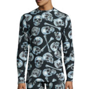 Blizzard Skinz™ Long-Sleeve Chrome Skulls Tee