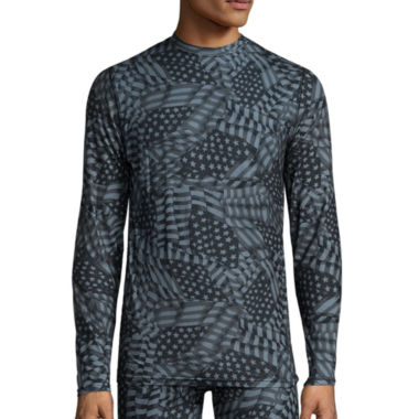 jcpenney.com | Blizzard Skinz™ Long-Sleeve Tonal Flags Tee