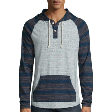 jcpenney.com | The Foundry Supply Co.™ Anorak Henley Hoodie - Big & Tall