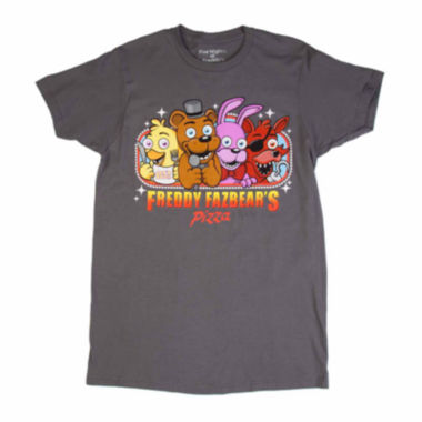 jcpenney.com | Short-Sleeve Five Nights at Freddy Pizza Group Tee
