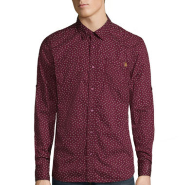 jcpenney.com | i jeans by Buffalo Mikele Long-Sleeve Woven Shirt