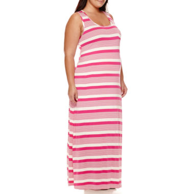 jcpenney.com | Maternity Sleeveless Knit Maxi Dress - Plus