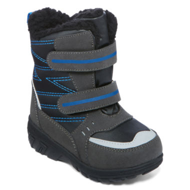 jcpenney.com | totes® Toby Boys Insulated Double-Strap Boots - Toddler
