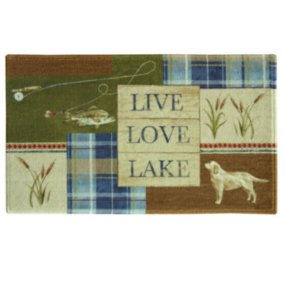 Bacova Guild Live Love Lake Bath Rug