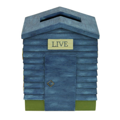 Bacova Guild Live Love Lake Tissue Box Cover