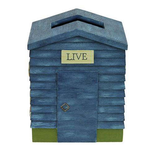 Bacova Guild Live Love Lake Tissue Box Cover