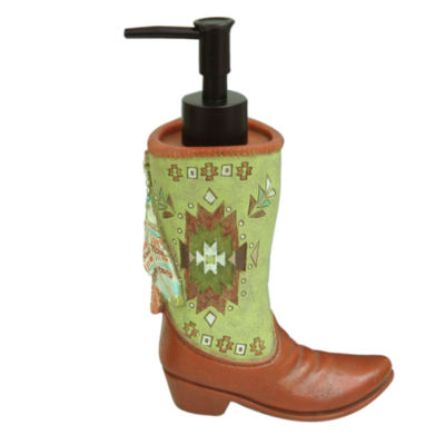 Bacova Guild Southwest Boots Soap Dispenser