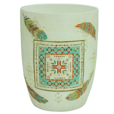 Bacova Guild Southwest Boots Wastebasket