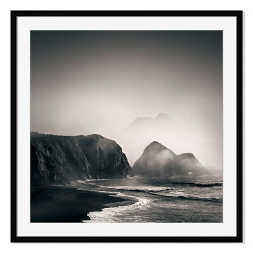 Pacific Coast I Framed Print