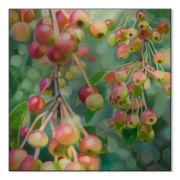 Frick Berries Metal Art