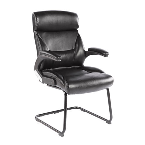 WORKSPACE FAUX-LEATHER GUEST OFFICE CHAIR