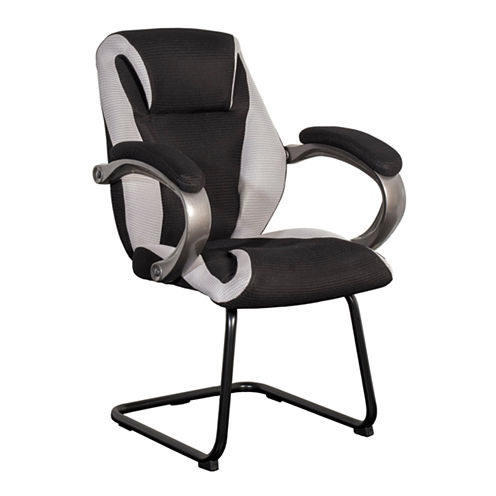 BIFMA Workspace Black And Grey Mesh Fabric Officechair