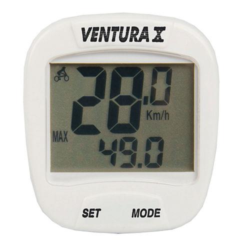 Ventura Unisex X Bike White Computer