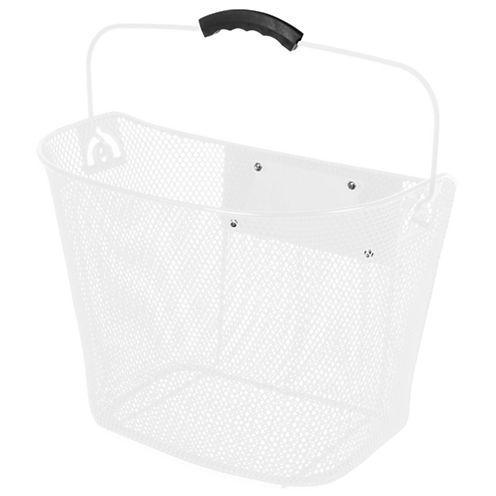 Ventura Quick Release White Wire Basket