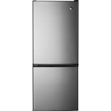 jcpenney.com | GE® ENERGY STAR® 10.5 cu. ft. Bottom-Freezer Refrigerator