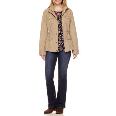 jcpenney.com | St. John's Bay® Anorak Jacket, Henley Blouse or Bootcut Jeans