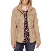 St. John's Bay® Spring Anorak Jacket - Tall