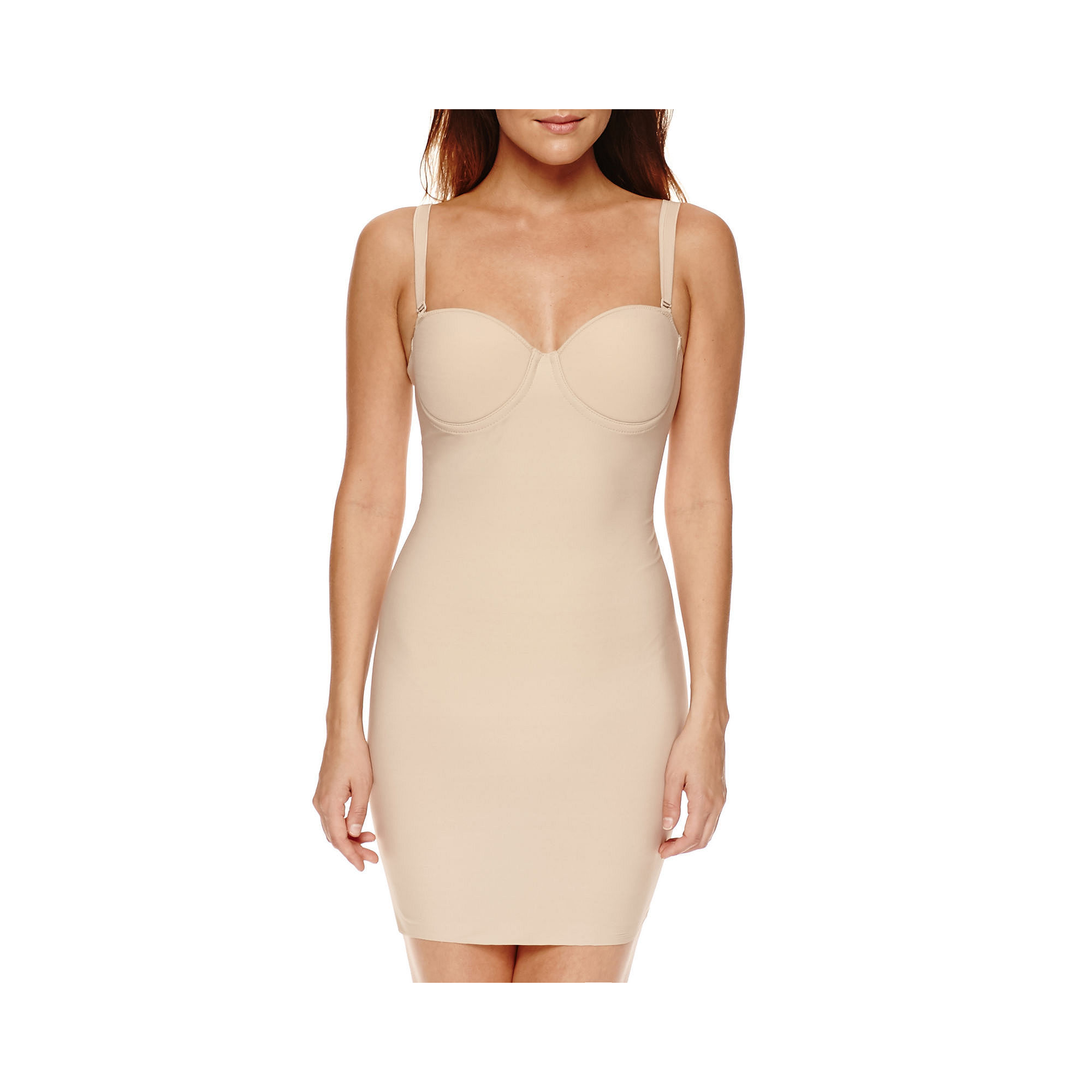 Ambrielle Full Slip Body Shaper plus size,  plus size fashion plus size appare