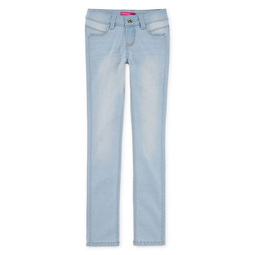 YMI® WannaBettaFit Front-Seam Skinny Jeans - Girls 7-14