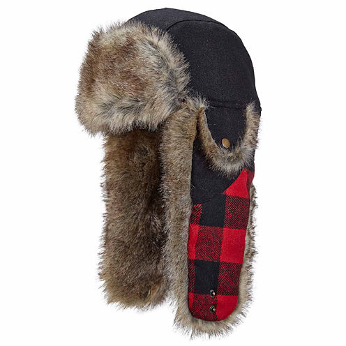 Woolrich Mixed-Media Trapper Hat