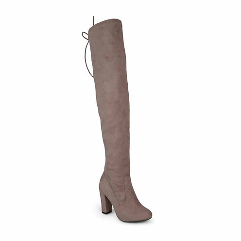 Journee Collection Maya Wc Womens Over the Knee Boots