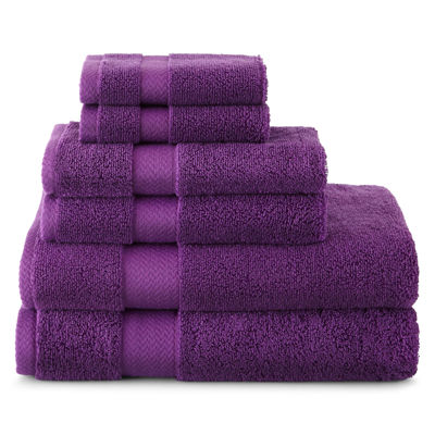 JCPenney Home™ 6-pc. Bath Towel Set - JCPenney Home™ Drylon Microfiber Bath Rug Collection - JCPenney