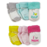 Carter's® 6-pk. Terry Socks - Girls