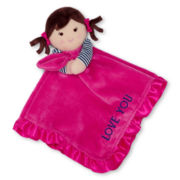 Carter's® Pink Doll Security Blanket