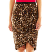 Worthington® Faux-Wrap Pencil Skirt