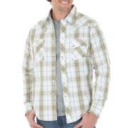 Wrangler® Western-Style Plaid Woven Shirt