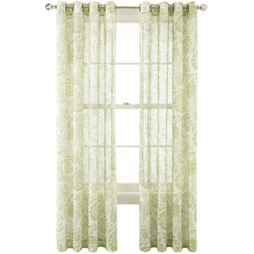 MarthaWindow™ Tuileries Grommet-Top Sheer Panel