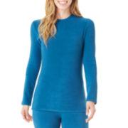 Cuddl Duds® Fleecewear Long-Sleeve Crewneck T-Shirt