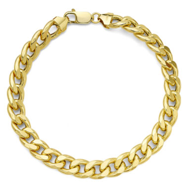 jcpenney.com | 10K Yellow Gold Curb Chain Bracelet