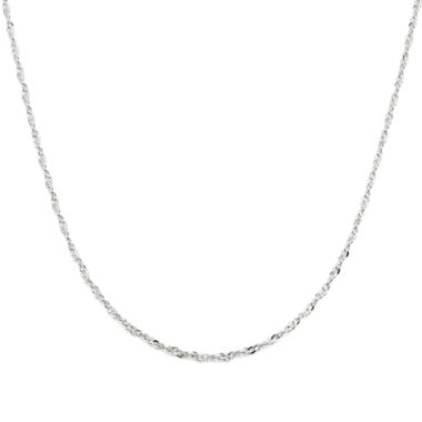 jcpenney.com | Sterling Silver Twisted Cable Chain Necklace