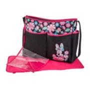 Disney Minnie Mouse Floral-Print Diaper Bag