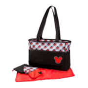 Disney Mickey Mouse Plaid Diaper Bag