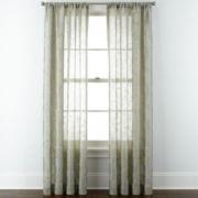 Liz Claiborne® Giselle Floral Rod-Pocket Curtain Panel