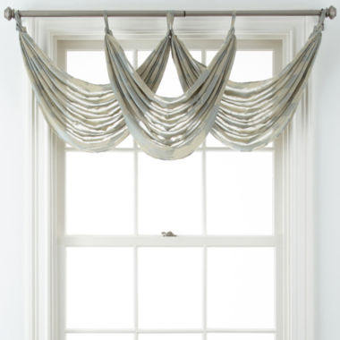jcpenney.com | Liz Claiborne® Giselle Floral Waterfall Valance