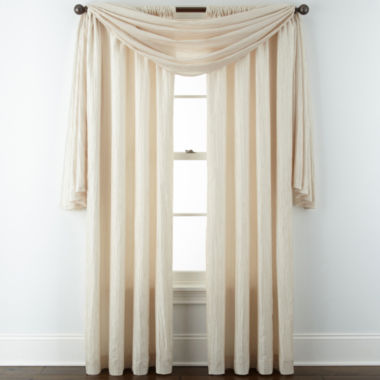 jcpenney.com | Liz Claiborne® Gallery Pleated Taffeta Window Treatments