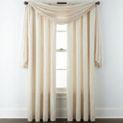 Liz Claiborne® Gallery Pleated Taffeta Window Treatments