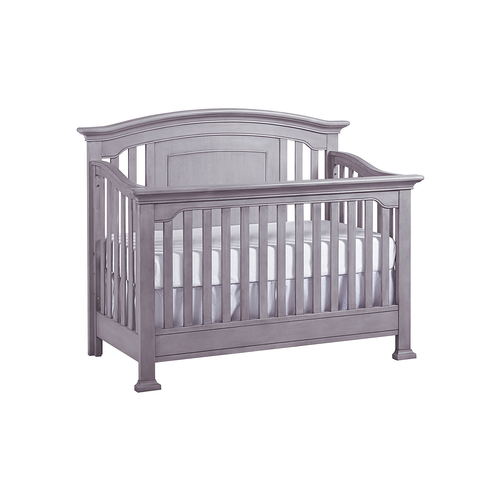 Buy medford convertible crib vintage gray now for Best value baby crib