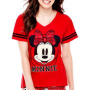 Disney Mickey or Minnie Short-Sleeve Sleep Tee